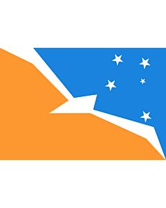 Flag: Tierra del Fuego Province