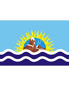 Flag: Santa Cruz Province