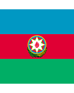 Flag: Standard of the President of Azerbaijan