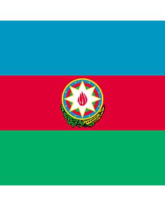 Flag: Standard of the President of Azerbaijan