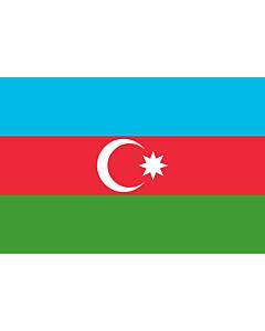 Flag: Azerbaijan