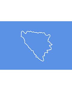 Flag: BiH  First set of proposal 3 | Third alternative flag of the First set of Proposals for the Bosnian Flag change