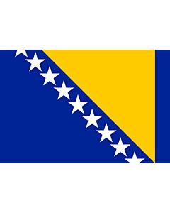Flag: Bosnia and Herzegovina