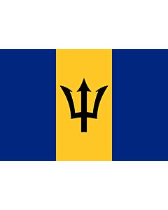 Flag: Barbados