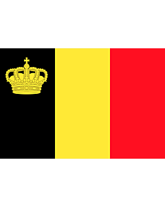 Flag: Belgium yacht ensign