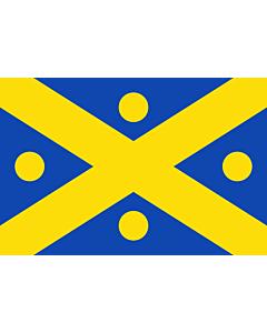 Flag: Belgian municipality Zingem