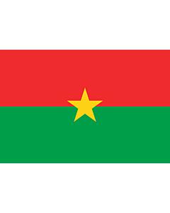 Flag: Burkina Faso