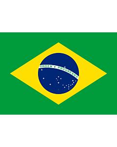 Flag: Brazil  1889–1960
