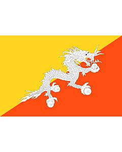Flag: Bhutan