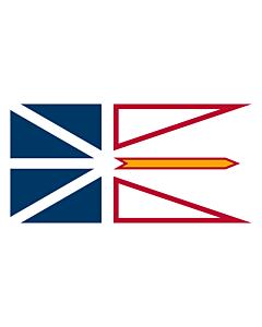 Flag: Newfoundland and Labrador