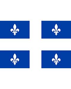 Flag: Quebec