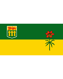 Flag: Saskatchewan