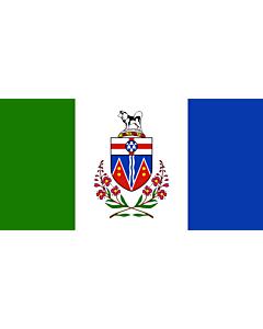 Flag: Yukon Territory