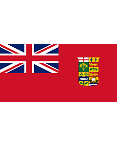 Flag: Canada 1868 Red