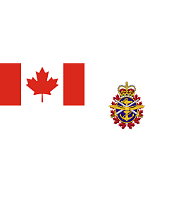 Flag: Joint service flag of the Canadian Forces