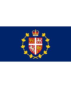 Flag: Lieutenant-Governor of Newfoundland and Labrador