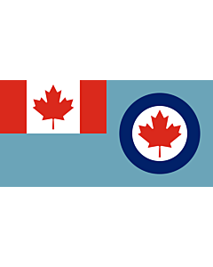 Flag: Royal Canadian Air Force ensign
