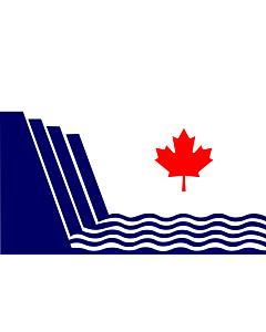 Flag: En Scarborough, Ontario, drawn in
