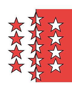 Flag: Valais