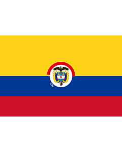 Flag: That is used by the President of Colombia