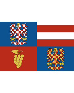 Flag: South Moravian Region