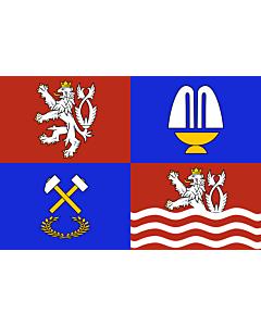 Flag: Karlovy Vary Region