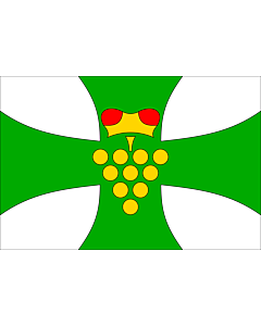 Flag: Municipal flag of Domanín village