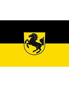 Flag: Stuttgart, Landeshauptstadt