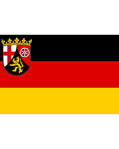 Flag: Rhineland-Palatinate