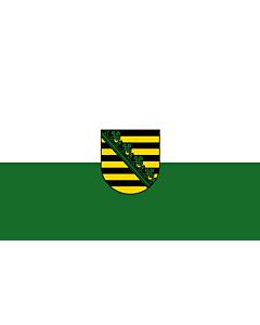 Flag: Saxony