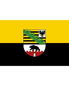 Flag: Saxony-Anhalt