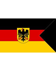 Flag: German Consular Ensign