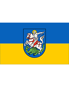 Flag: Hattingen   Beschreibung der Flagge  Die Stadtfarben sind BlauGelb