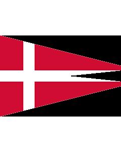 Flag: Naval Rank Denmark Senior Officer Afloat