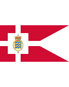 Flag: Standard of the Crown Prince of Denmark
