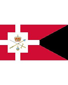 Flag: Standard of the Regent of Denmark