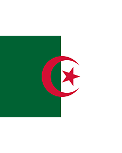 Flag: Algeria