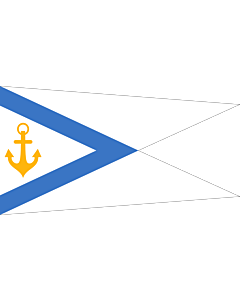 Flag: Pennant of the Estonian Chief of Naval Forces
