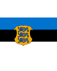 Flag: Estonian Minister of Defence