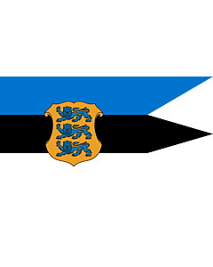 Flag: Naval Ensign of Estonia