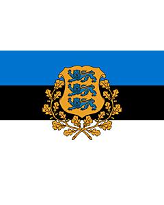Flag: President of Estonia