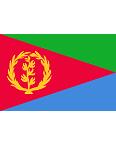 Flag: Eritrea