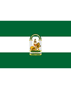 Flag: Andalusia