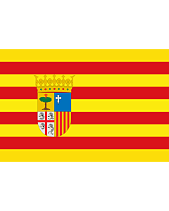 Flag: Aragon