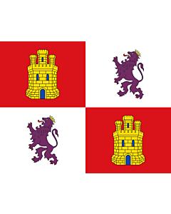 Flag: Castile and León