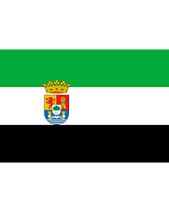 Flag: Extremadura