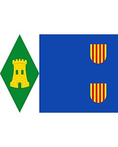 Flag: Torrijo del Campo   Torrijo del Campo De paño azul