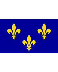 Flag: Île-de-France