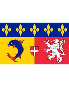 Flag: Rhône-Alpes