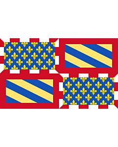 Flag: Ancient Flag of Burgundy